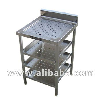 Clean Glass Perforated Top With 3 Shelves Buy Bar