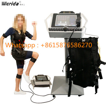 EMS Technology Fitness Electro muscular machine / electrostimulation muscle stimulator