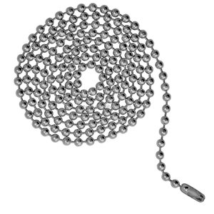 1-12mm Stainless steel Brass Metal Ball Chain