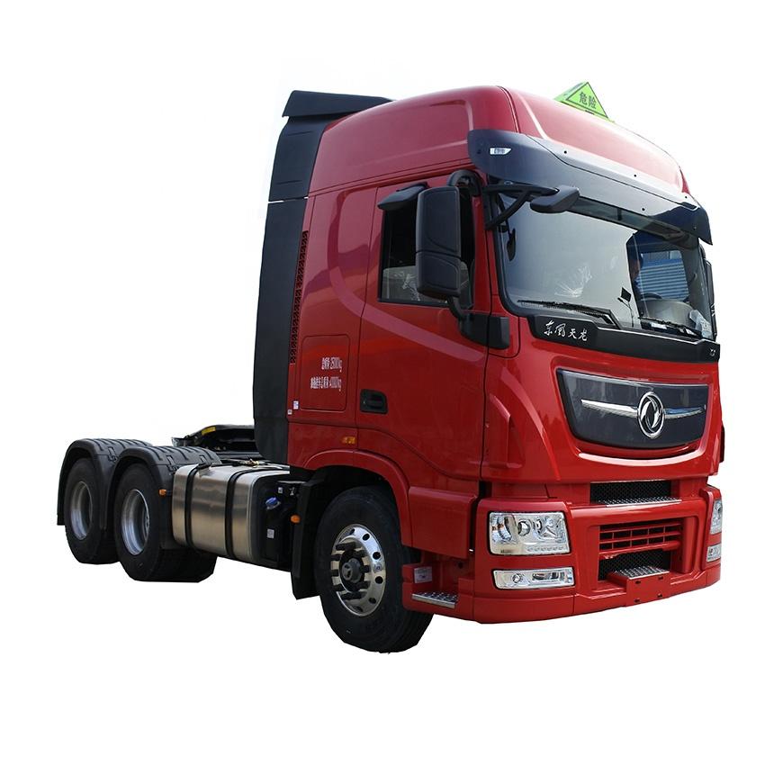 Dongfeng de 6X4 camión tractor cabeza semi-remolque cabeza de camión para las ventas