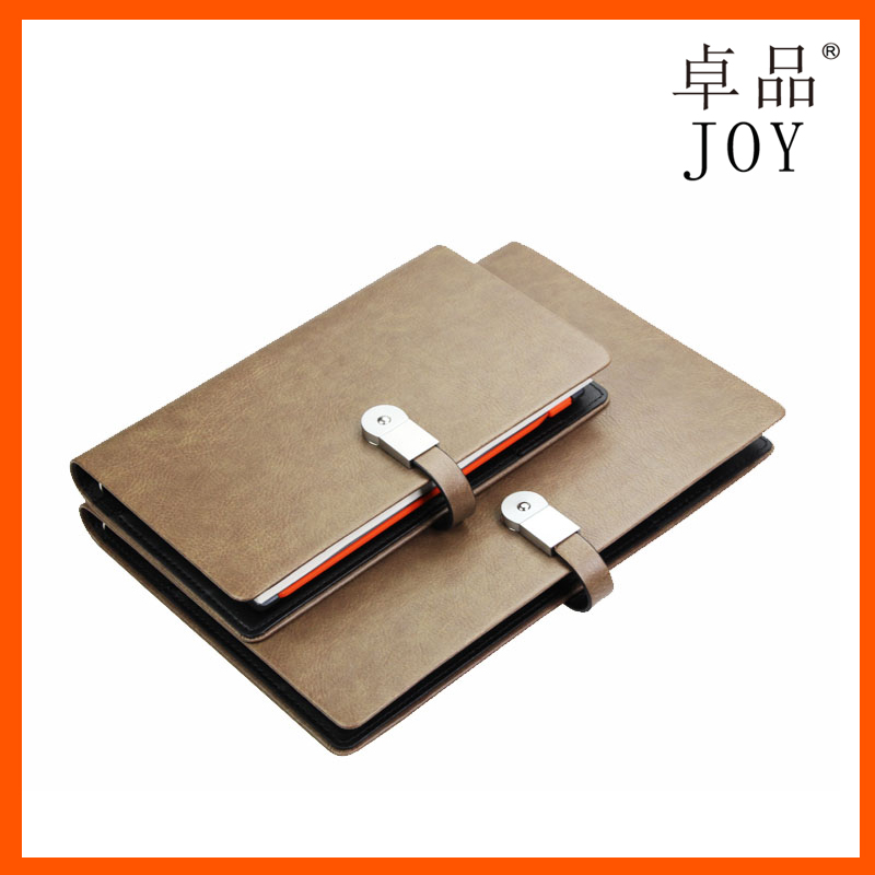 avant-garde diary particular organizer notebook with power bank and usb