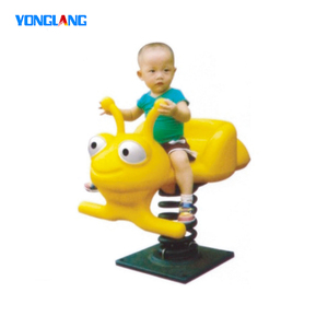 Outdoor Spring Rider Equipment Kids Spring Rocking Horse For Fun