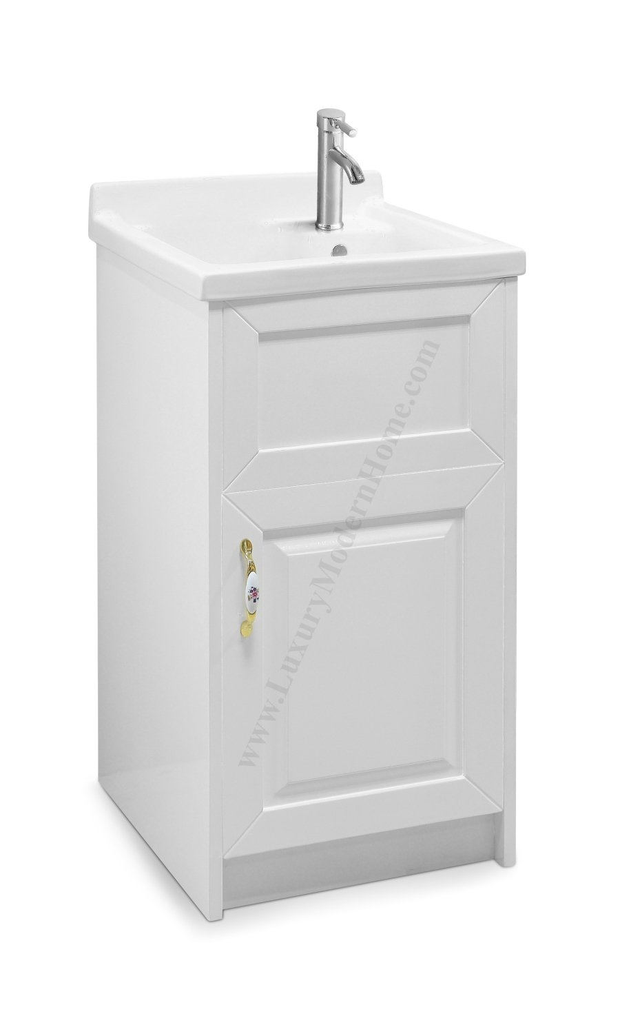 Get Quotations Sink Alexander 18 White Utility Modern Mop Slop Tub Deep Ceramic Laundry
