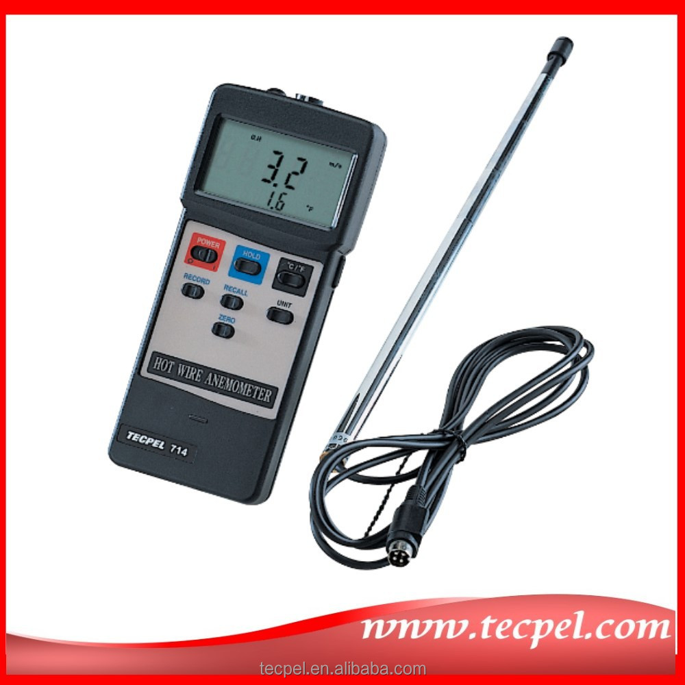 AVM-714 Taiwan Hot wire Air Velocity Meters and Anemometers - Air Movement