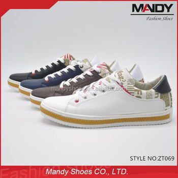 New Modal Pu Leather Cheap Men Shoes