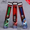 Star Wars Lightsaber Darth Vader Luke Skywalker Obi Wan Cosplay Sword with LED Light Star Wars