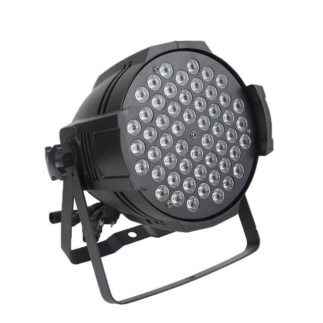 Guangzhou factory price 54 x 3w rgbw led parcan lights dmx par 64