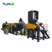 Turui latest type wash 300 Automatic pe pp plastic films and woven bags washing production dryer equipment recycling machine