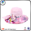 Fashion Leisure Custom Large Brim Floppy Girl Summer Sun Beach Hat