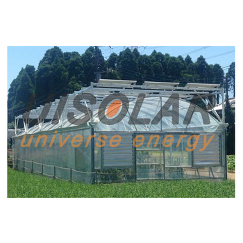 Neue Zustand Photovoltaik Glas Gewachshauser Mulit Span