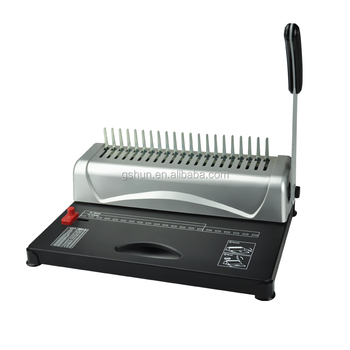 Comb Binding Machine For Offices And Home Use With Punch Bind Function -  Buy Punch Bind,Punch Bind,Punch Bind Product on Alibaba com
