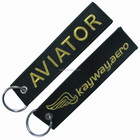 AVIATOR embroidery Material and keychain Type embroidery keychain