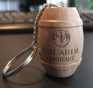 wine cork custom logo key ring with string paracord cork new york souvenir floating keychain