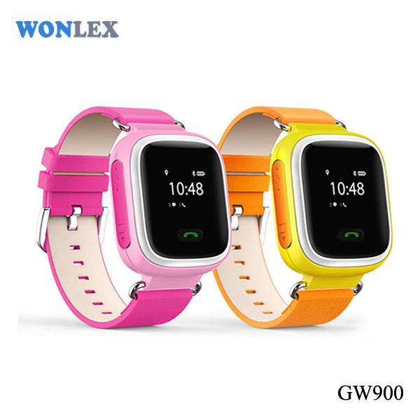 Wonlex Small Wrist Watch Gps Tracking Device Bracelet For Kids Elders Sos Help On