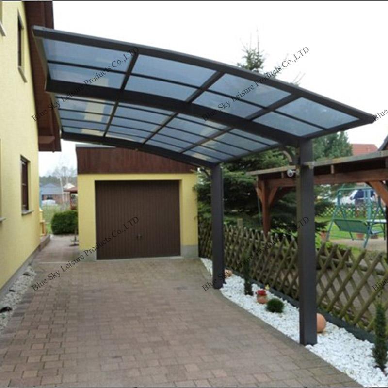 Outdoor cobertizos de almacenamiento de policarbonato para for Cobertizos para jardin