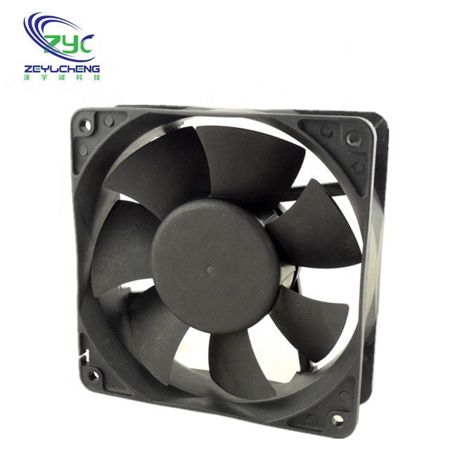 12V 18V 24V 36V 48V DC Brushless Large Cooling Fan 120X120X38mm