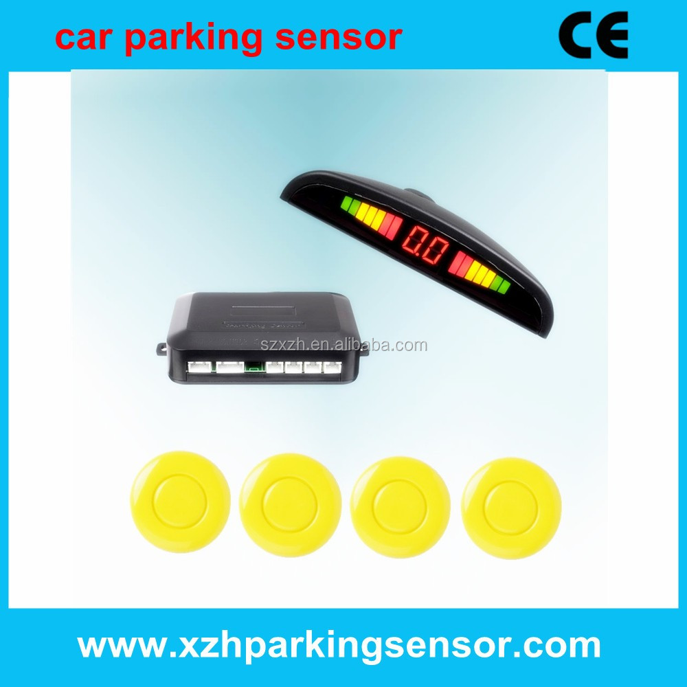 international language speak led parking sensor
