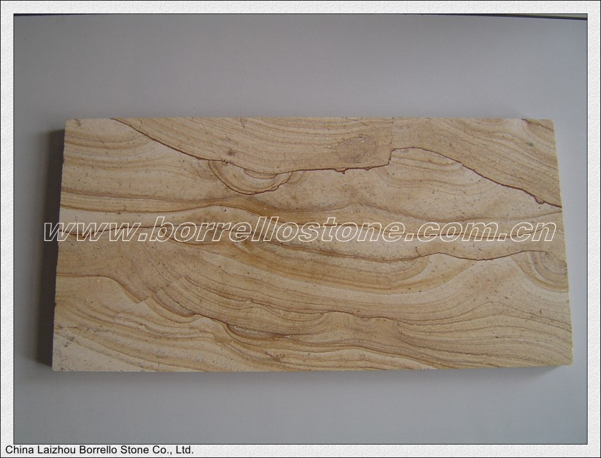 high quality yellow sand stone paving