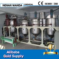 High efficient soybean oil refining machine
