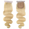 Virgin human hair lace frontals piece body wave 613 hair bundles with 613 closure,613 frontal and bundles wigs closures