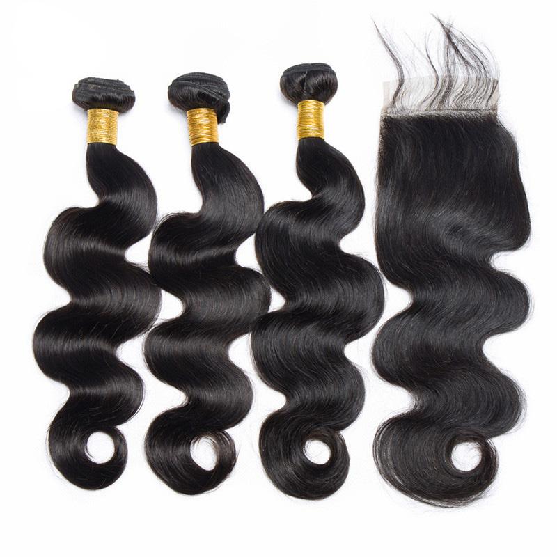 Wholesale Hair Extension 100 Unprocessed Virgin Remy Brazilian Human Hair Body Wave Bundles, N/a