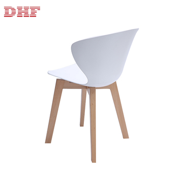Enjoyable Modern Design Wooden Leg White Plastic Dining Chair For Restaurant View Chairs For Restaurant Dnf Product Details From Taizhou Donghong Furniture Bralicious Painted Fabric Chair Ideas Braliciousco