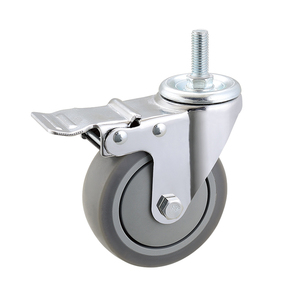 2017 China caster factory Best selling retractable casters