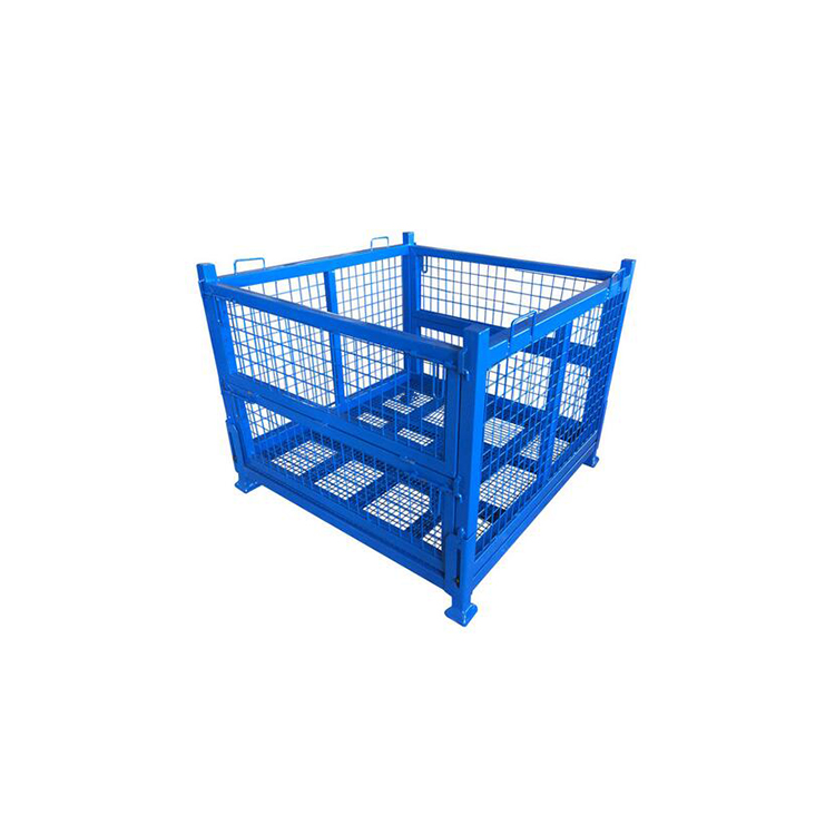 Dependable performance Electro Galvanized folding steel cage