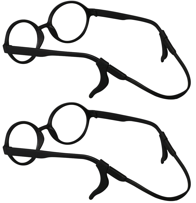 c5aa3db59f4 SHINKODA Kids Silicone Anti-slip Eyeglasses Strap and Ear Hooks Set Safety  Eyewear Retainer For