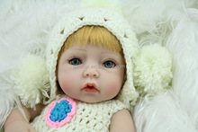 Decoration Collect Fake Babies Children Toys Silicone Doll,New Reborn Baby Dolls