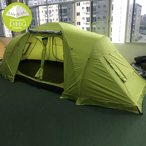 Cheap Custom Logo Family Tent Camping Waterproof 4 Person Tunnel Tent