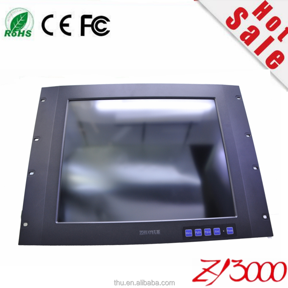 ZY3000 new 17 inch / 10.1 inch lcd double sided touch screen computer monitor