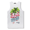 Wholesale new design 100% polyester sublimation tank top unisex