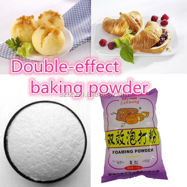halal certificate 100% pure food additive dried instant double effect baking powder double acting baking powder for all bakery