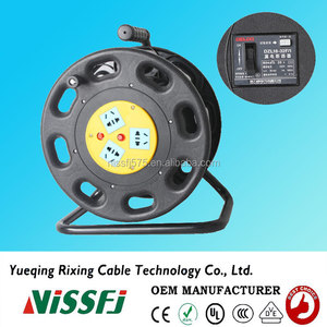 Plastic cable reel S300CK can be used with Chinese plug