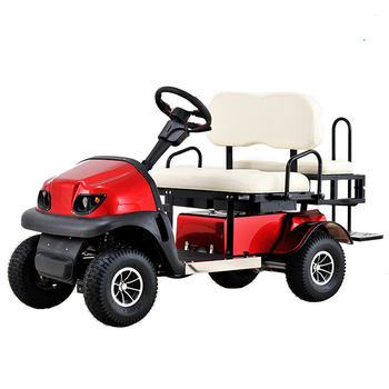 Ce Heavy Duty High Power Foldable  Electric Golf Cart for 2-4 People