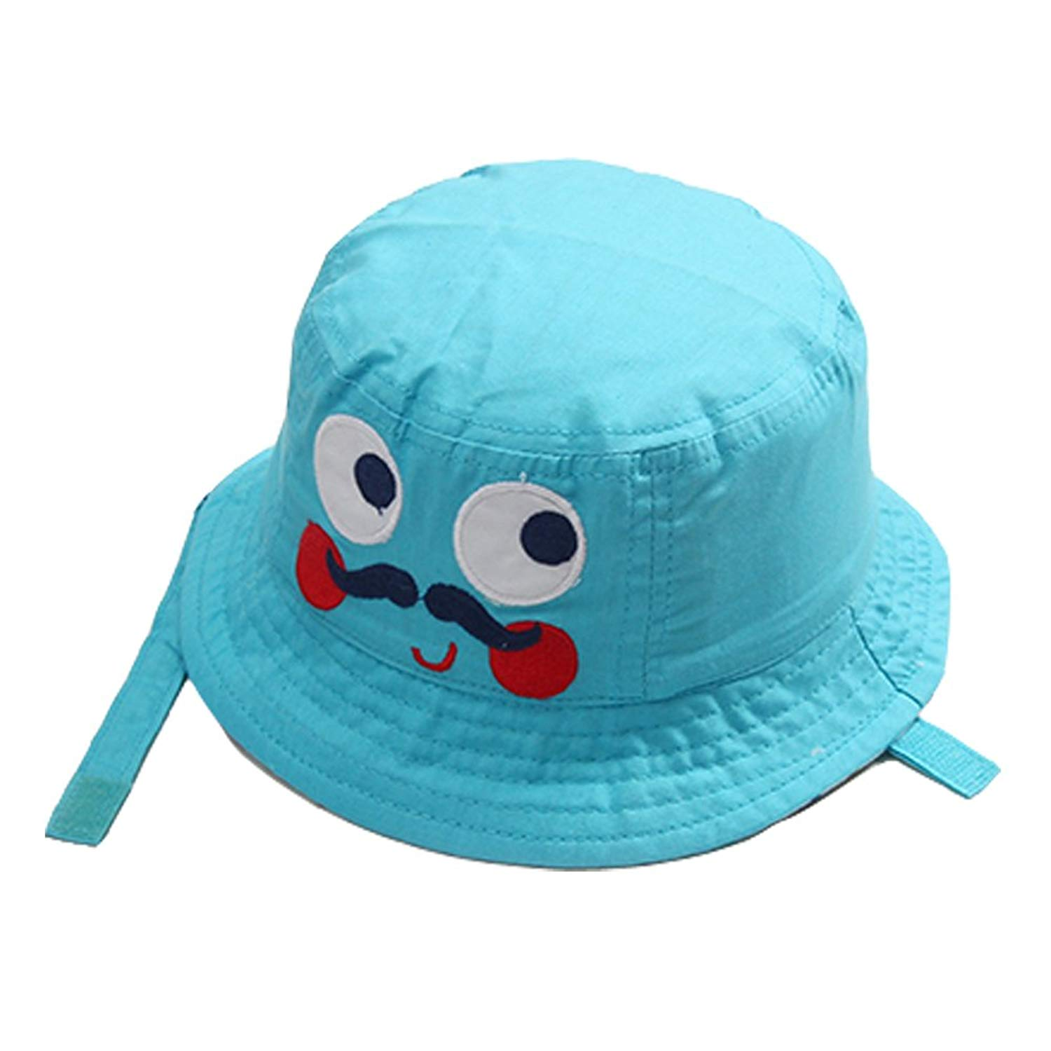 2ed0a3cce47 Get Quotations · Toddler Bucket Sun Hat Boys - Cute Cartoon Infant Baby  Kids UV Sun Animal Protection Hat