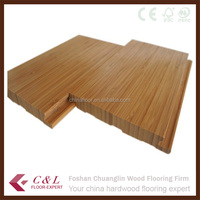 C&L natural color click strand woven bamboo flooring