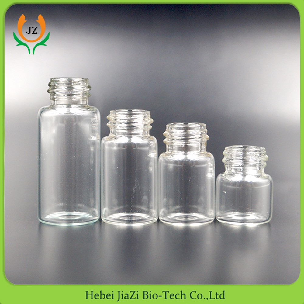 10ml empty clear Injection Glass Vials with rubber stopper