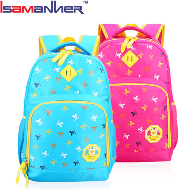Hot selling OEM ODM picture of school bag, cute girl ads school bags