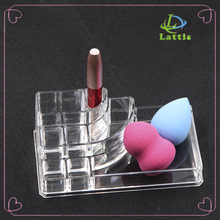 Acrylic Cosmetic Display Lipstick Stand Holder multi-function clear acrylic organizer