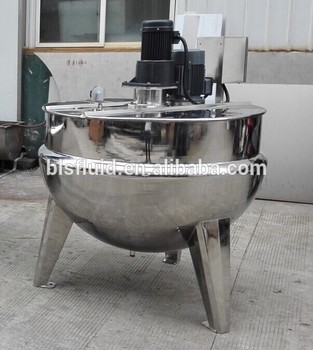 600 liter steam jacketed cooking kettle