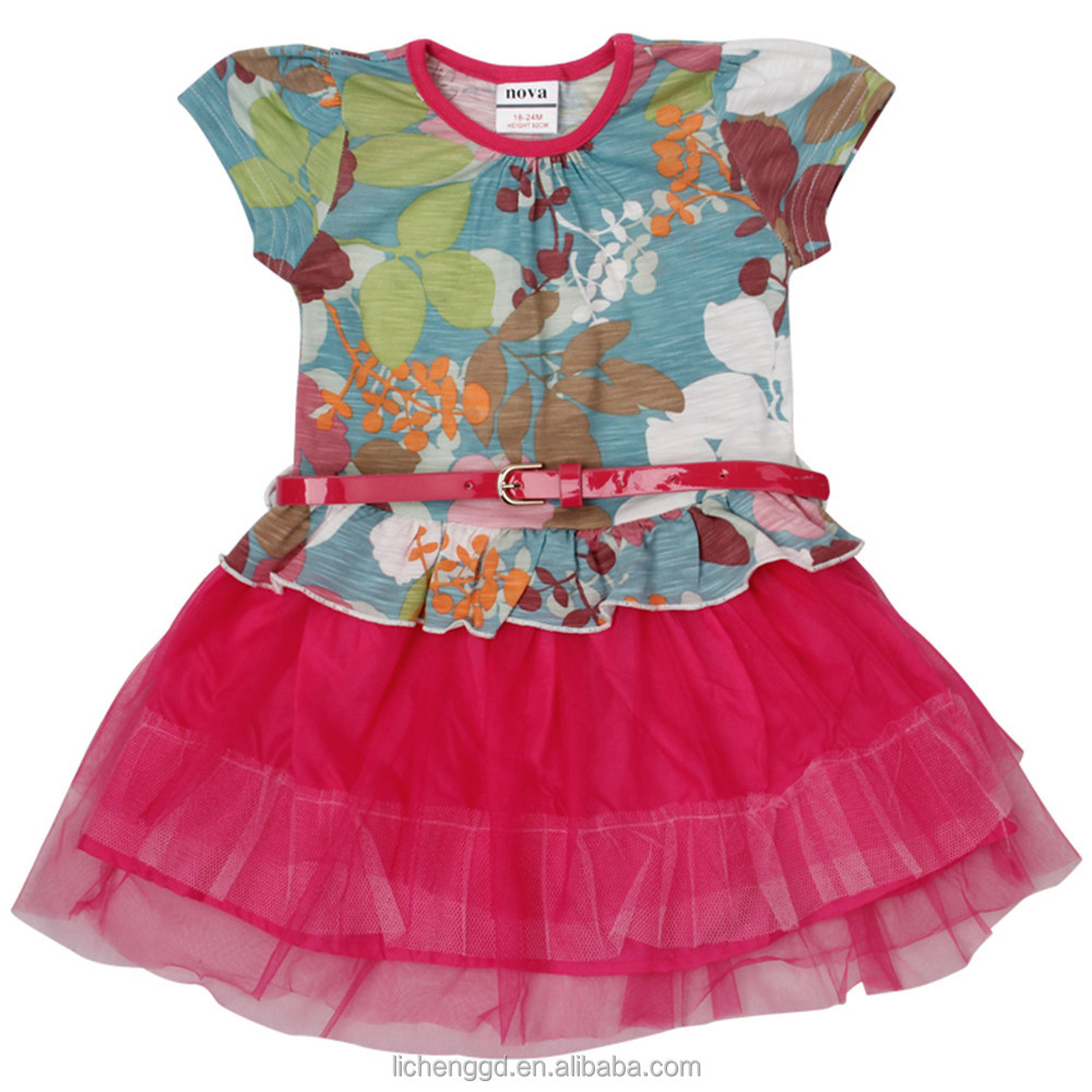 2016 Baby Frock Designs Children Party Cotton Frocks For Girls ...