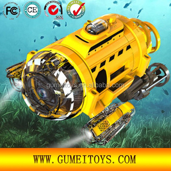Spycam Aqua Rc Radio Remote Control Toy With Light Rc