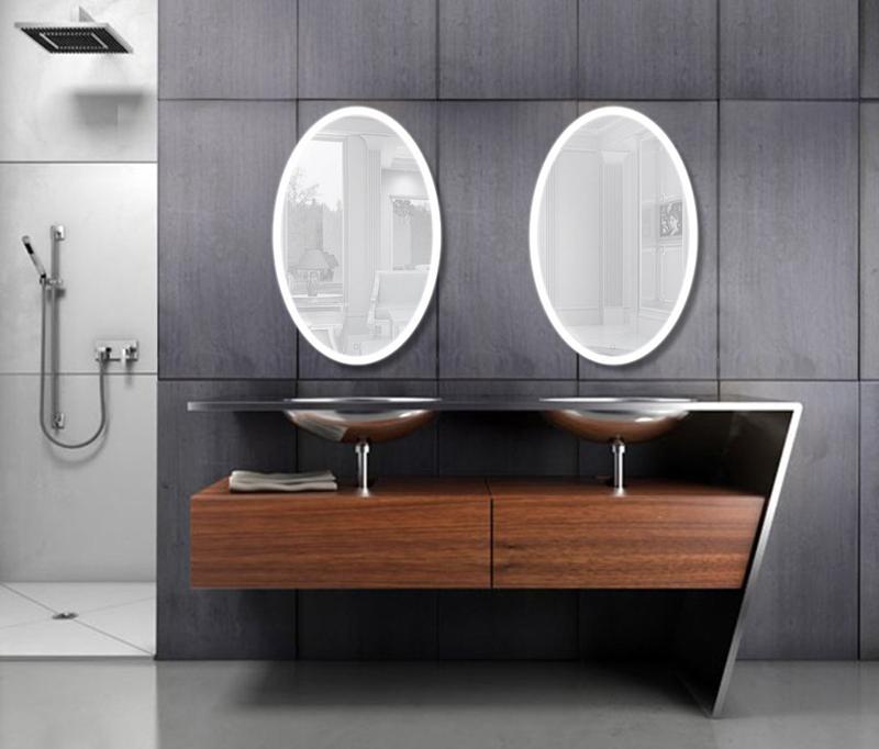 Made In China Ovale Vorm Verlichte Badkamer Spiegel Met Led - Buy ...
