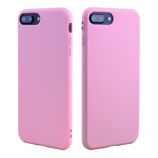 New Products TPU Beautiful Wholesale Cell Phone Case Frosted Candy-Colored Soft Shell For iPhone8
