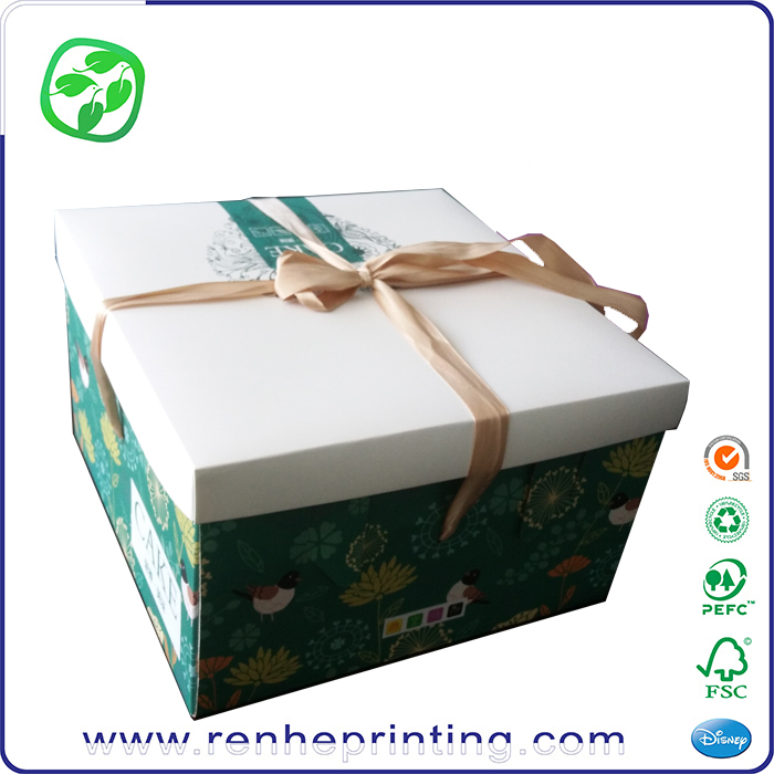 paper cake packing box foldable, personalized cake boxes