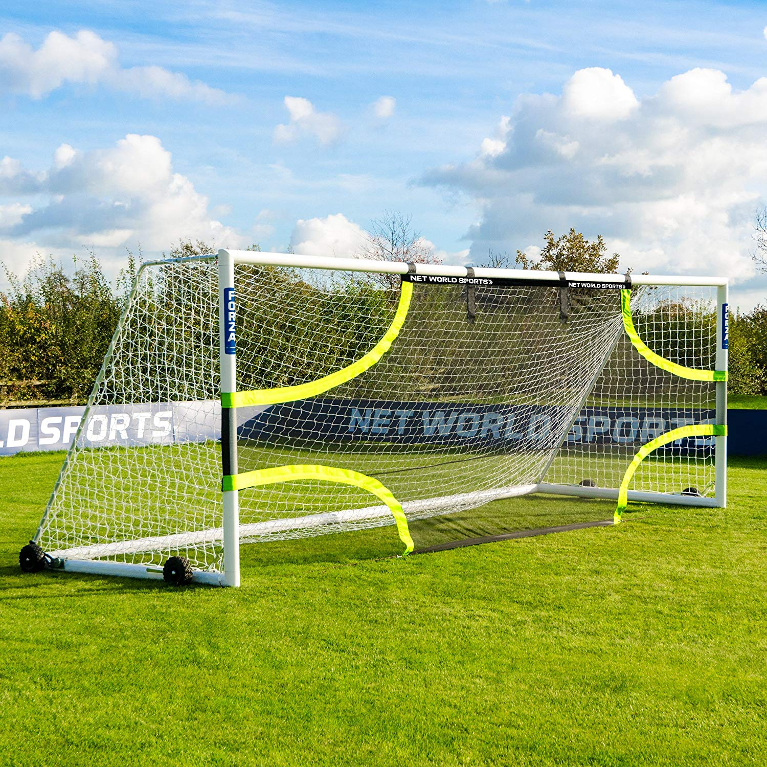 cf6352844 Get Quotations · FORZA Pro Soccer Goal Target Sheets (Choose Your Size - 12  x 6 - 24