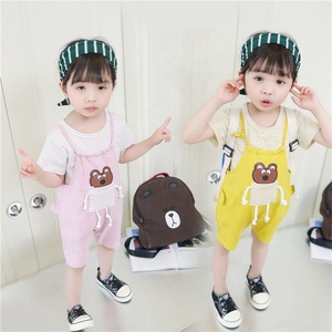 2016 New design baby lots of stocks clothes design children summer baby girl clothes casual boutique dress set for baby girl