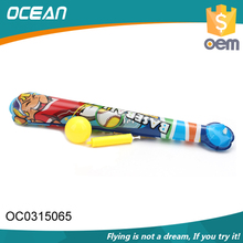 Portable cheap kids sport toy inflatable baseball bat with inflator pump